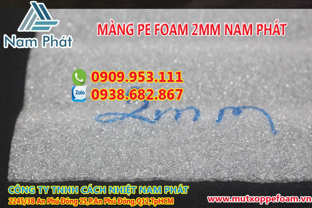 Màng Xốp Pe Foam 2mm