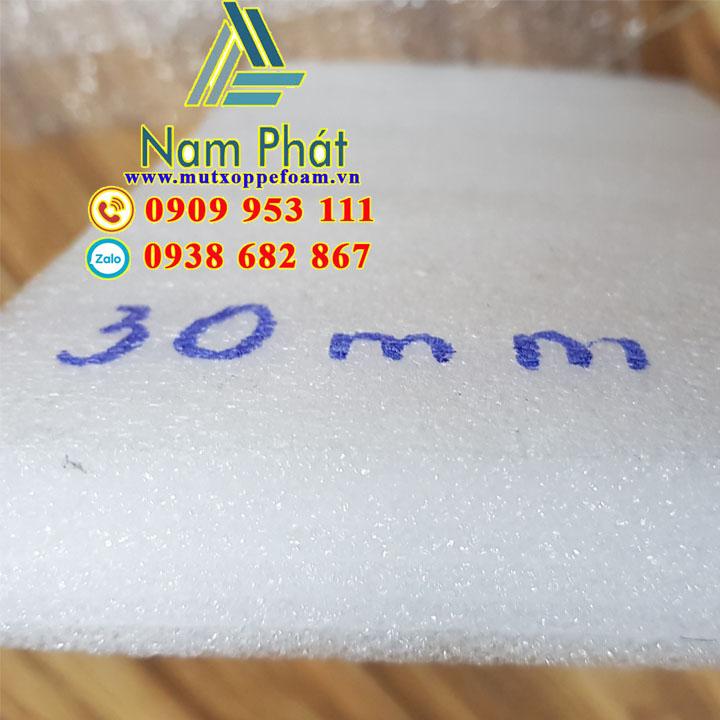 Tấm xốp pe foam dày 30mm