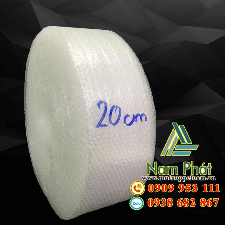 Cuộn xốp hơi 20cm x 100m giá rẻ ở Bình Dương, TPHCM 70k/cuộn